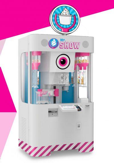 O Robô Innovatios da Topema: serve sorvete e é atração!