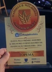 Topema recebe Prêmio