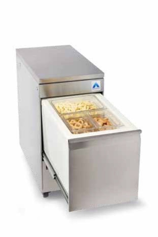 GAVETA REFRIGERADA TOP BOX VERTICAL