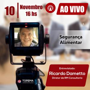 Ricardo Dametto - Ao vivo - Food Service Topema