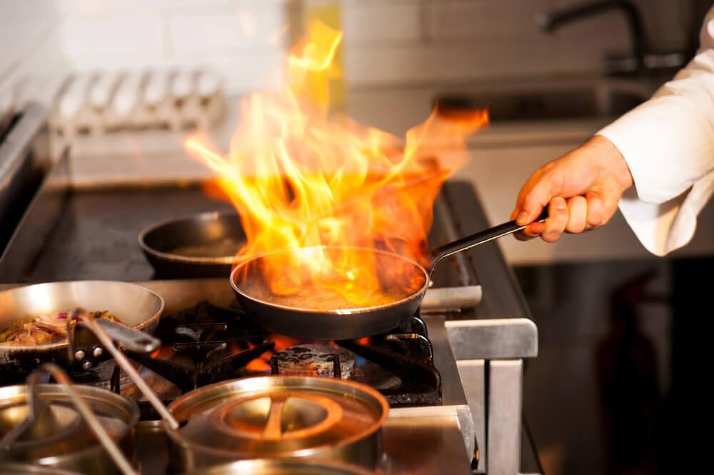 Cozinha industrial sem gás já é uma realidade