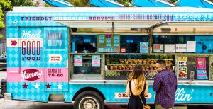 food truck ou food container