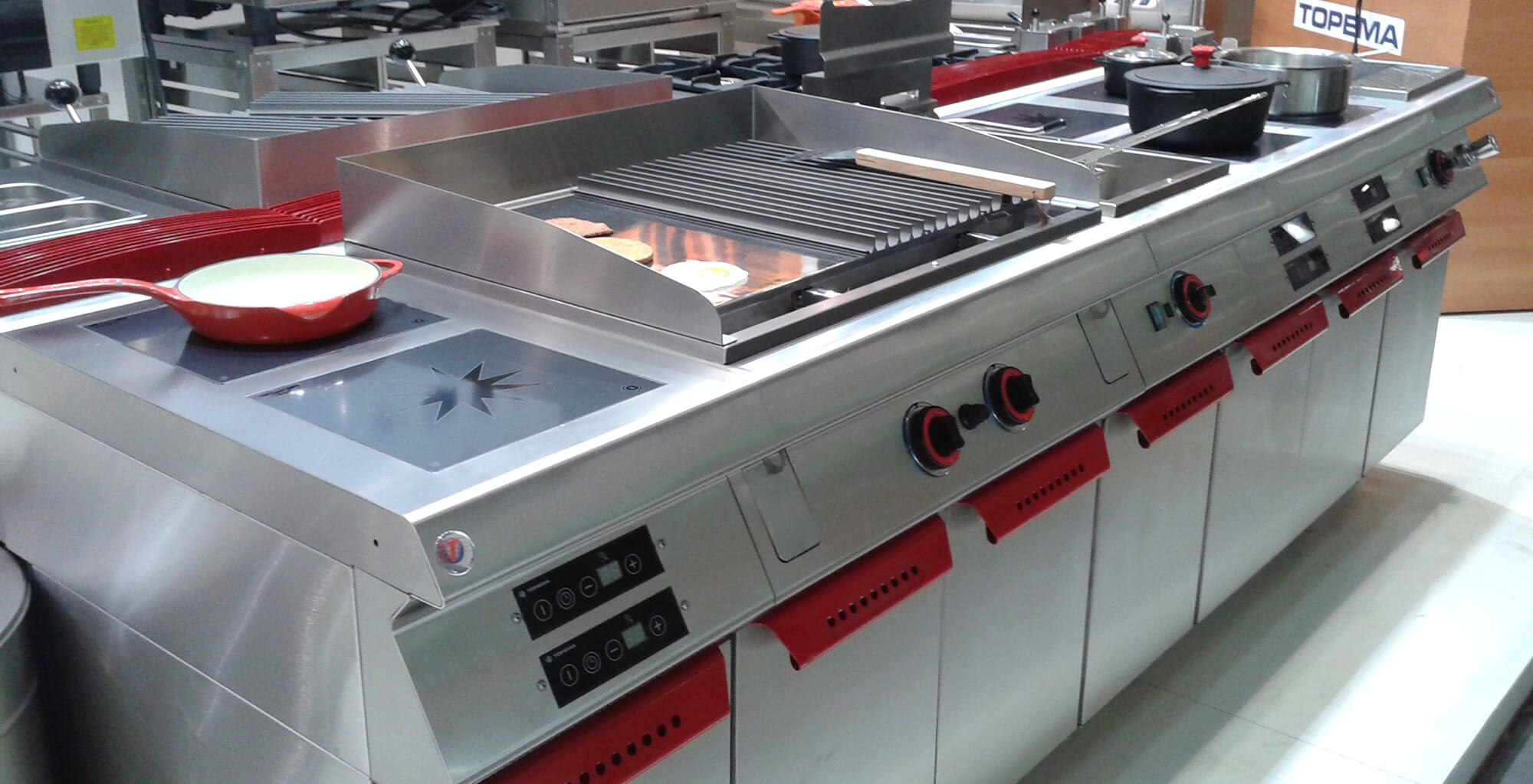 montar cozinha industrial