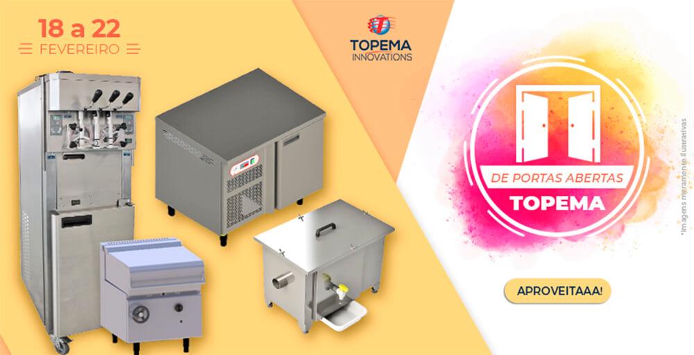 Evento da Topema conta com workshops e promoções de equipamentos