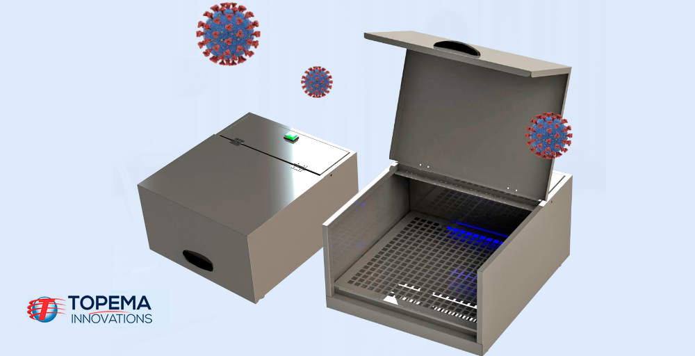 Esterilizador de alimentos e embalagem: ideal na prevenção de vírus e bactérias!