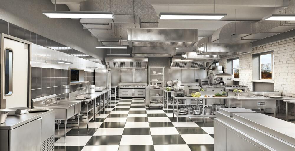 Qual layout de cozinha industrial é o ideal para o seu restaurante?